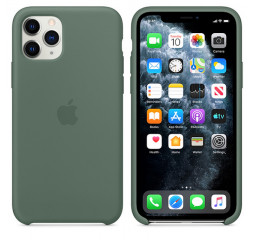 Чехол для Apple iPhone 11 Pro  Apple Sillicone Case /pine green
