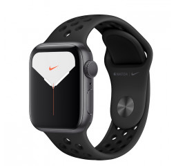 Смарт-часы Apple Watch Nike+ Series 5 GPS 44mm Space Gray Aluminum Case with Anthracite/Black Nike Sport Band (MX3W2)