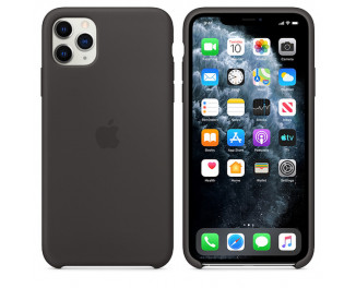 Чехол для Apple iPhone 11 Pro Max  Apple Sillicone Case /black