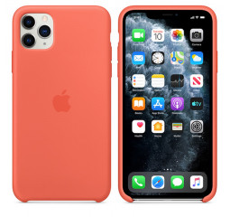 Чехол для Apple iPhone 11 Pro Max  Apple Sillicone Case /clementine
