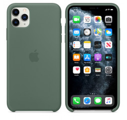 Чехол для Apple iPhone 11 Pro Max  Apple Sillicone Case /pine green
