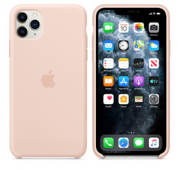 Чехол для Apple iPhone 11 Pro Max  Apple Sillicone Case /pink sand