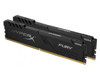 Оперативная память DDR4 8 Gb (3200 MHz) (Kit 4 Gb x 2) Kingston HyperX Fury Black (HX432C16FB3K2/8)