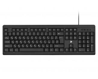 Клавиатура 2E KS108 USB Black (2E-KS108UB)