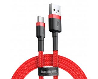 Кабель USB Type-C > USB  Baseus Cafule Cable 2.0м /red