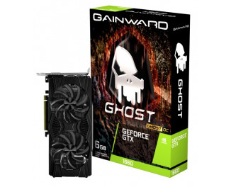 Видеокарта Gainward GeForce GTX 1660 Ghost OC (426018336-4474)