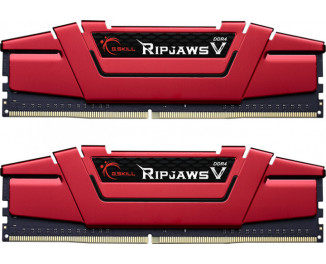 Оперативная память DDR4 32 Gb (3600 MHz) (Kit 16 Gb x 2) G.SKILL Ripjaws V Red (F4-3600C19D-32GVRB)