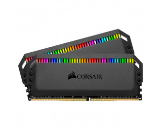 Оперативная память DDR4 16 Gb (3600 MHz) (Kit 8 Gb x 2) Corsair Dominator Platinum RGB Black (CMT16GX4M2C3600C18)
