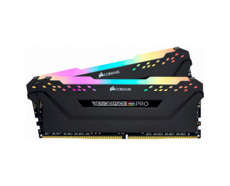 Оперативная память DDR4 16 Gb (3600 MHz) (Kit 8 Gb x 2) Corsair Vengeance RGB Pro Black (CMW16GX4M2C3600C18)