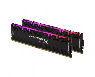 Оперативная память DDR4 16 Gb (3600 Mhz) (Kit 8 Gb x 2) Kingston HyperX Predator RGB (HX436C17PB4AK2/16)