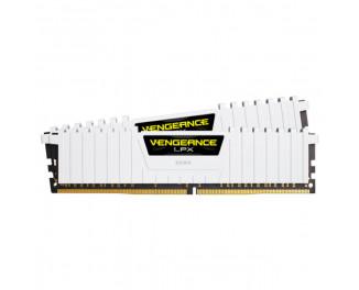 Оперативная память DDR4 16 Gb (3200 MHz) (Kit 8 Gb x 2) Corsair Vengeance LPX White (CMK16GX4M2B3200C16W)