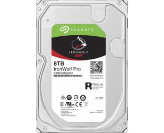 Жесткий диск 8 TB Seagate IronWolf Pro (ST8000NE001)