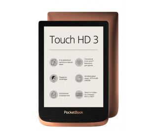 Электронная книга PocketBook 632 Touch HD 3 Copper (PB632-K-CIS)