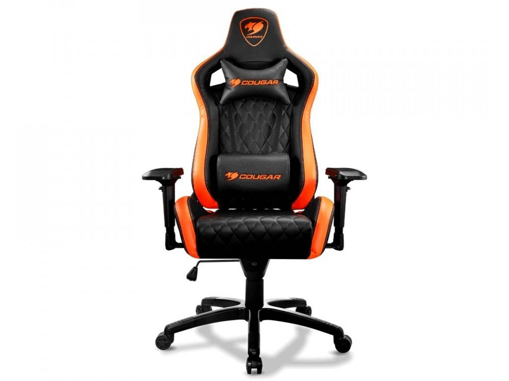 Кресло для геймеров Cougar Armor S Black/Orange