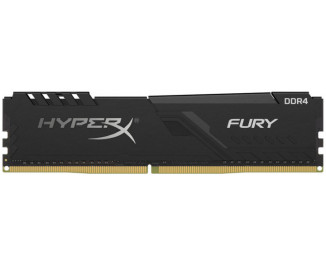Оперативная память DDR4 4 Gb (3200 MHz) Kingston HyperX Fury Black (HX432C16FB3/4)