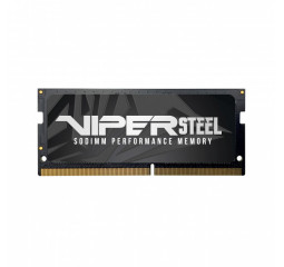 Память для ноутбука SO-DIMM DDR4 8 Gb (3000 MHz) Patriot Viper Steel Gray (PVS48G300C8S)