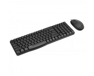 Клавиатура и мышь Rapoo NX1820 Black
