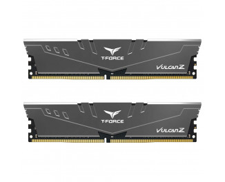 Оперативная память DDR4 16 Gb (3200 MHz) (Kit 8 Gb x 2) Team Vulcan Z Grey (TLZGD416G3200HC16CDC01)