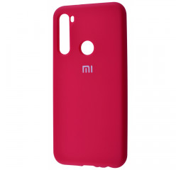 Чехол для смартфона Xiaomi Redmi Note 8  Silicone Cover Full Protective /rose red