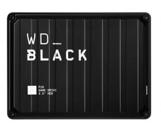 Внешний жесткий диск 4 TB WD Black P10 Game Drive (WDBA3A0040BBK)