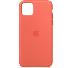 Чехол для Apple iPhone 11 Pro Max  Silicone Case /clementine orange