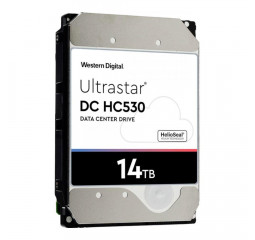 Жесткий диск 14 TB WD Ultrastar DC HC530 (WUH721414ALE6L4)