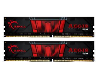 Оперативная память DDR4 32 Gb (3000 MHz) (Kit 16 Gb x 2) G.SKILL Aegis (F4-3200C16D-32GIS)
