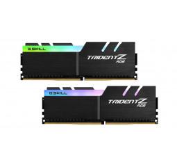 Оперативная память DDR4 32 Gb (3600 MHz) (Kit 16 Gb x 2) G.SKILL Trident Z RGB (F4-3600C18D-32GTZR)