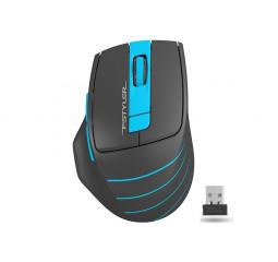 Мышь беспроводная A4Tech FG30 Black/Blue USB