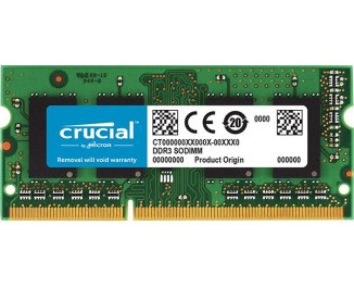 Память для ноутбука SO-DIMM DDR3L 8 Gb (1866 MHz) Crucial (CT102464BF186D)