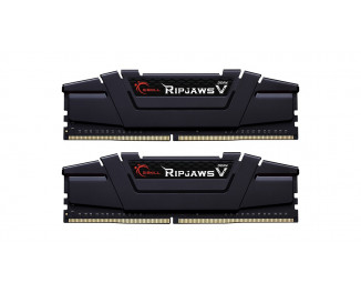 Оперативная память DDR4 16 Gb (4000 MHz) ( Kit 8 Gb x 2) G.SKILL Ripjaws V Black (F4-4000C18D-16GVK)