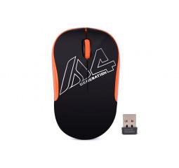 Мышь беспроводная A4Tech G3-300N Black+Orange