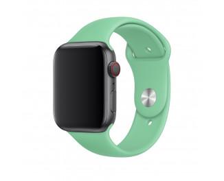 Силиконовый ремешок для Apple Watch 42/44 mm Apple Sport Band Spearmint (MV792)
