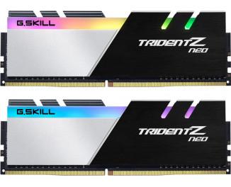 Оперативная память DDR4 16 Gb (3200 MHz) (Kit 8 Gb x 2) G.SKILL Trident Z Neo (F4-3200C16D-16GTZN)