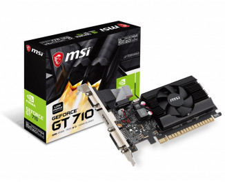 Видеокарта MSI GeForce GT 710 2GD3 LP