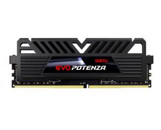 Оперативная память DDR4 8 Gb (3000 MHz) Geil EVO Potenza Black (GPB48GB3000C16ASC)