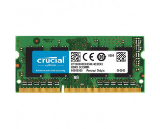 Память для ноутбука SO-DIMM DDR3L 4 Gb (1600 MHz) Crucial (CT4G3S160BM)