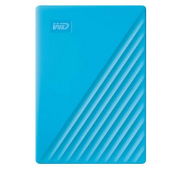 Внешний жесткий диск 4 TB WD My Passport Blue (WDBPKJ0040BBL)