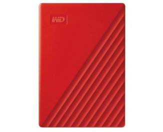 Внешний жесткий диск 4 TB WD My Passport Red (WDBPKJ0040BRD)