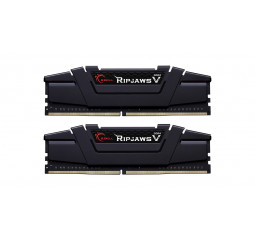 Оперативная память DDR4 64 Gb (3200 MHz) (Kit 32 Gb x 2) G.SKILL Ripjaws V (F4-3200C16D-64GVK)