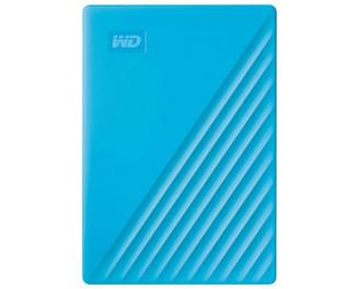 Внешний жесткий диск 2 TB WD My Passport Blue (WDBYVG0020BBL)