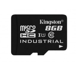 Карта памяти microSD 8Gb Kingston class 10 UHS-I Industrial (SDCIT/8GBSP)