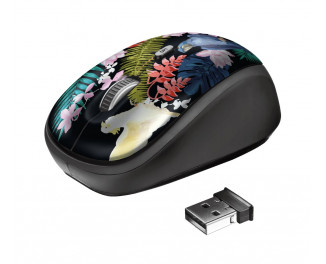 Мышь беспроводная Trust Yvi Parrot Black USB (23387)