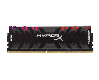 Оперативная память DDR4 8 Gb (3600 MHz) Kingston HyperX Predator RGB (HX436C17PB4A/8)