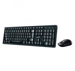 Клавиатура и мышь беспроводная Genius Smart KM-8200 WL Black Ukr