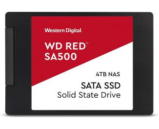 SSD накопитель 4 TB WD Red SA500 (WDS400T1R0A)