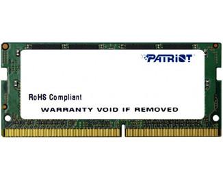 Память для ноутбука SO-DIMM DDR4 16 Gb (2666 MHz) Patriot (PSD416G26662S)