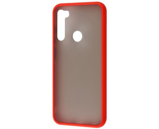 Чехол для смартфона Xiaomi Redmi Note 8T Matte Color Case / red