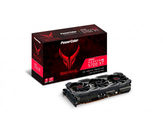 Видеокарта PowerColor Radeon RX 5700 XT Red Devil (AXRX 5700 XT 8GBD6-3DHE/OC)