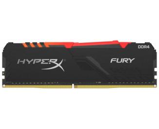 Оперативная память DDR4 16 Gb (3600 MHz) Kingston HyperX Fury RGB (HX436C17FB3A/16)